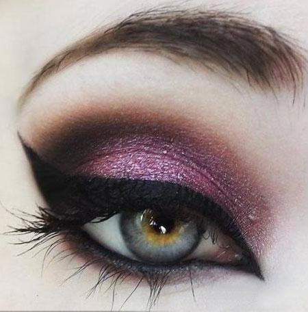 猫眼妆美人图图片
