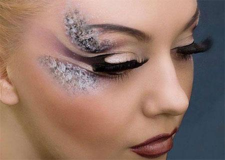 拉丁舞化妆眼妆图片图片